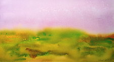 Field I by Suzanne Siegel (Watercolor Painting)