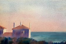 Looking to Sea by Suzanne Siegel (Watercolor Painting)
