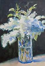 After Manet by Suzanne Siegel (Watercolor Painting)