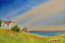 Maine Morning by Suzanne Siegel (Watercolor Painting)