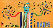 Please Wash Your Hands by Hal Mayforth (Giclee Print)