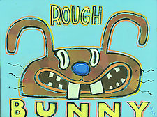 Rough Bunny by Hal Mayforth (Giclee Print)