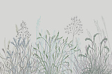 Abstract Grass Forms 14 by Hal Mayforth (Giclee Print)