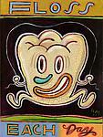 Floss Each Day by Hal Mayforth (Giclee Print)