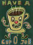 Have a Cup o' Joe by Hal Mayforth (Giclee Print)