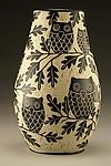 Owl Family Vase: Large by Jennifer  Falter (Ceramic Vase)
