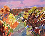 Forest Walk by Leonard Moskowitz (Acrylic Painting)