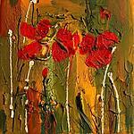 Following the Sun by Maya Green (Acrylic Painting)