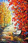 Fall Foliage by Maya Green (Oil Painting)