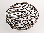 Bronze Ring Nebula by Andrea Waxman Mulcahy (Metal Sculpture)