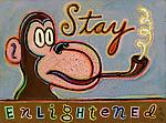 Stay Enlightened by Hal Mayforth (Giclee Print)