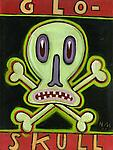 Glo-Skull by Hal Mayforth (Giclee Print)
