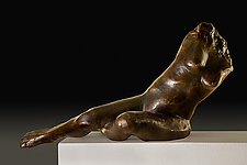 Reflection by Dina Angel-Wing (Bronze Sculpture)