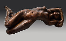 Reclining Figure #2 by Dina Angel-Wing (Bronze Sculpture)