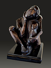 Homage to Brancusi by Dina Angel-Wing (Bronze Sculpture)