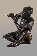 Ode to Vivaldi by Dina Angel-Wing (Bronze Sculpture)