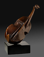 Viol by Dina Angel-Wing (Bronze Sculpture)