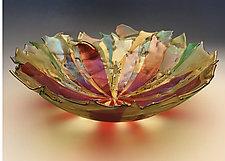 Vetro Fiori by Gregg Mesmer and Diane Bonciolini (Art Glass Bowl)