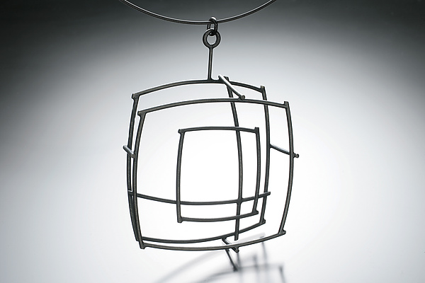 Large Square Pendant