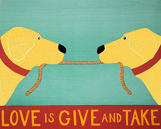 Love Is Give and Take