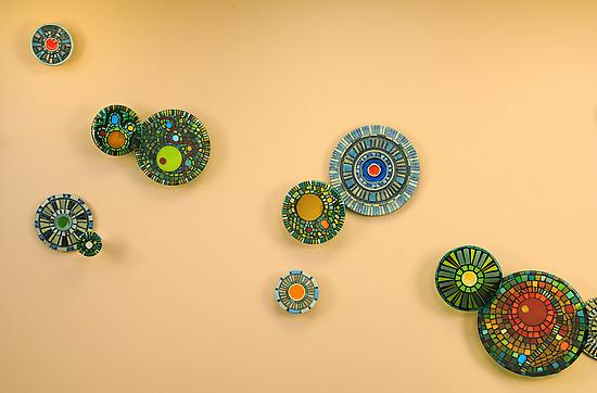 Rainforest Mandala by Janine Sopp and Barbara Galazzo (Art Glass ...
