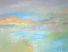 Coastal Mist by Filomena Booth (Acrylic Painting)