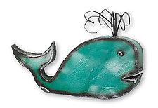 Whale by Ben Gatski and Kate Gatski (Metal Wall Sculpture)