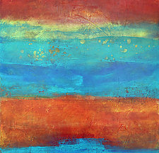 Sand and Sea I by Filomena Booth (Acrylic Painting)