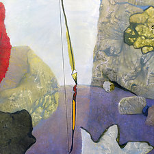 Bow by Charla Elizabeth (Acrylic Painting)