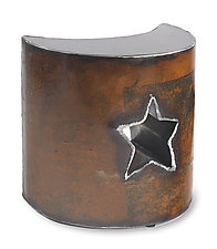 Star Table by Ben Gatski and Kate Gatski (Metal Side Table)