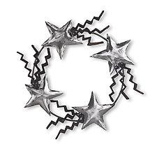 Star Wreath by Ben Gatski and Kate Gatski (Metal Sculpture)