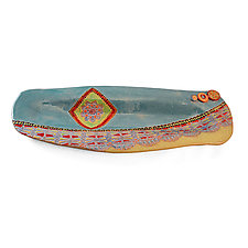Another Dream by Laurie Pollpeter Eskenazi (Ceramic Tray)
