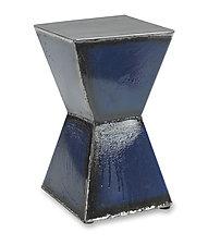 Hourglass Table by Ben Gatski and Kate Gatski (Metal Side Table)