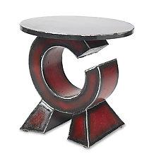 Orbit Side Table by Ben Gatski and Kate Gatski (Metal Side Table)