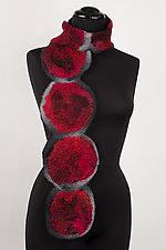 Zara Wool Scarf by Elizabeth Rubidge  (Wool Scarf)