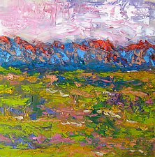 Monsoon Morning III by Jeff  Ferst (Oil Painting)
