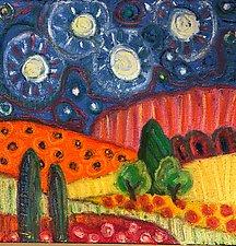 Starlight III by Jeff  Ferst (Oil Painting)