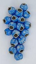 Blue Bells by Amy Meya (Ceramic Wall Sculpture)