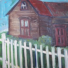 Old House by Elisa Root (Oil Painting)