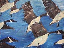 Takeoff by Elisa Root (Oil Painting)