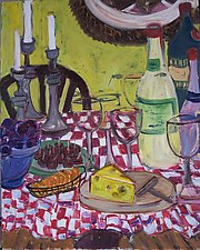 Table by Elisa Root (Oil Painting)