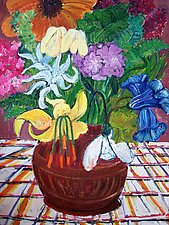 Flowers by Elisa Root (Oil Painting)