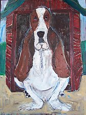 Hound by Elisa Root (Oil Painting)