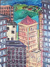 Pittsburgh by Elisa Root (Oil Painting)