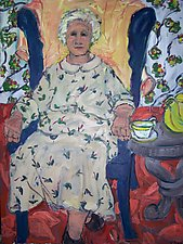 Grandmother, Seated by Elisa Root (Oil Painting)