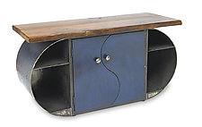 Moonlight Credenza by Ben Gatski and Kate Gatski (Metal Console Table)