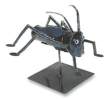 Cricket by Ben Gatski and Kate Gatski (Metal Sculpture)