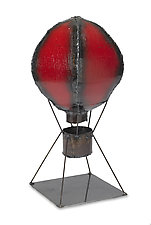 Hot Air Balloon by Ben Gatski and Kate Gatski (Metal Sculpture)