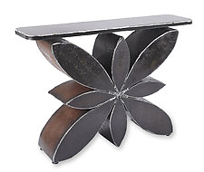 Blossom Console Table by Ben Gatski and Kate Gatski (Metal Console Table)