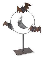Bat Sculpture by Ben Gatski and Kate Gatski (Metal Sculpture)
